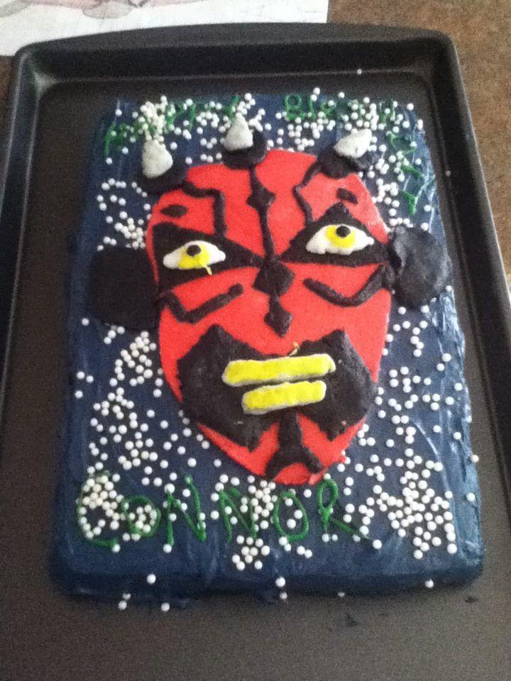 My Sons 6th Birthday I Made Him A Darth Maul Star Wars Birthday