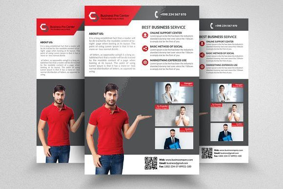 Professional Flyer Templates Flyer Template Template And Business
