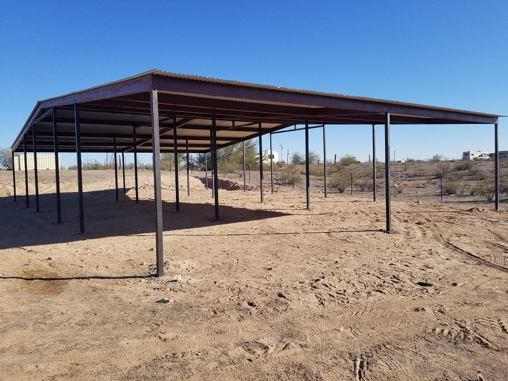 AZ Mare Motels Hay Barns Builders Installers Arizona Shade