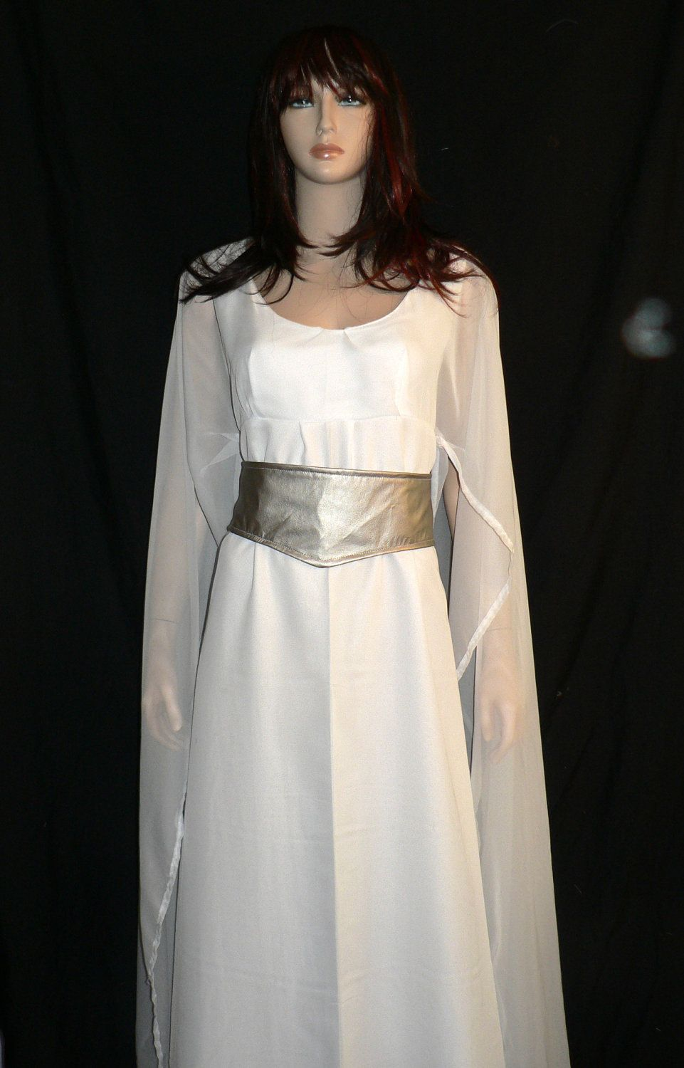 Star Wars Princess Leia Ceremonial Gown Costume, Star Wars Cosplay ...