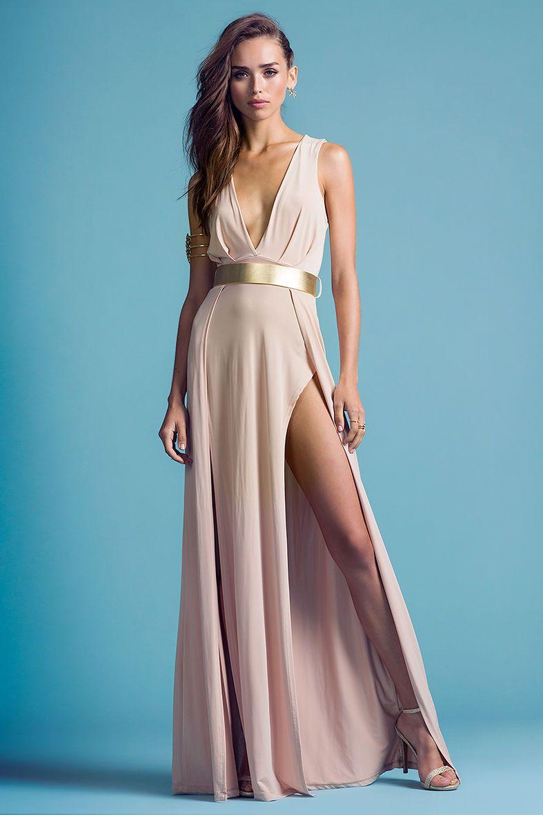 AGACI Jolie Slit Maxi DressJolie Slit Maxi Dress | Dresses ...