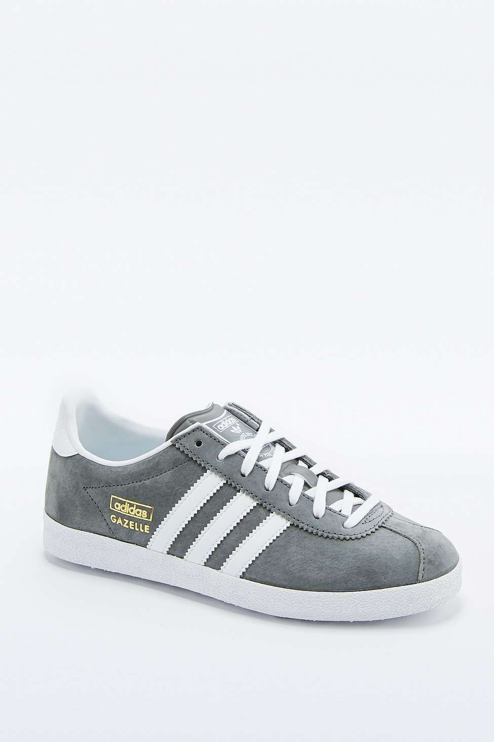 buy online faa34 62381 adidas Originals Gazelle Grey Trainers