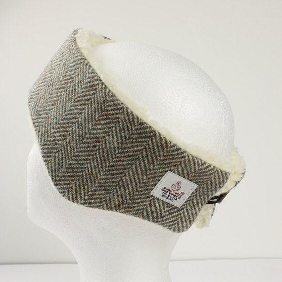 Headband Harris Tweed Ltd Edition Herringbone by PaulineLothian ... b9e2e24b9e0