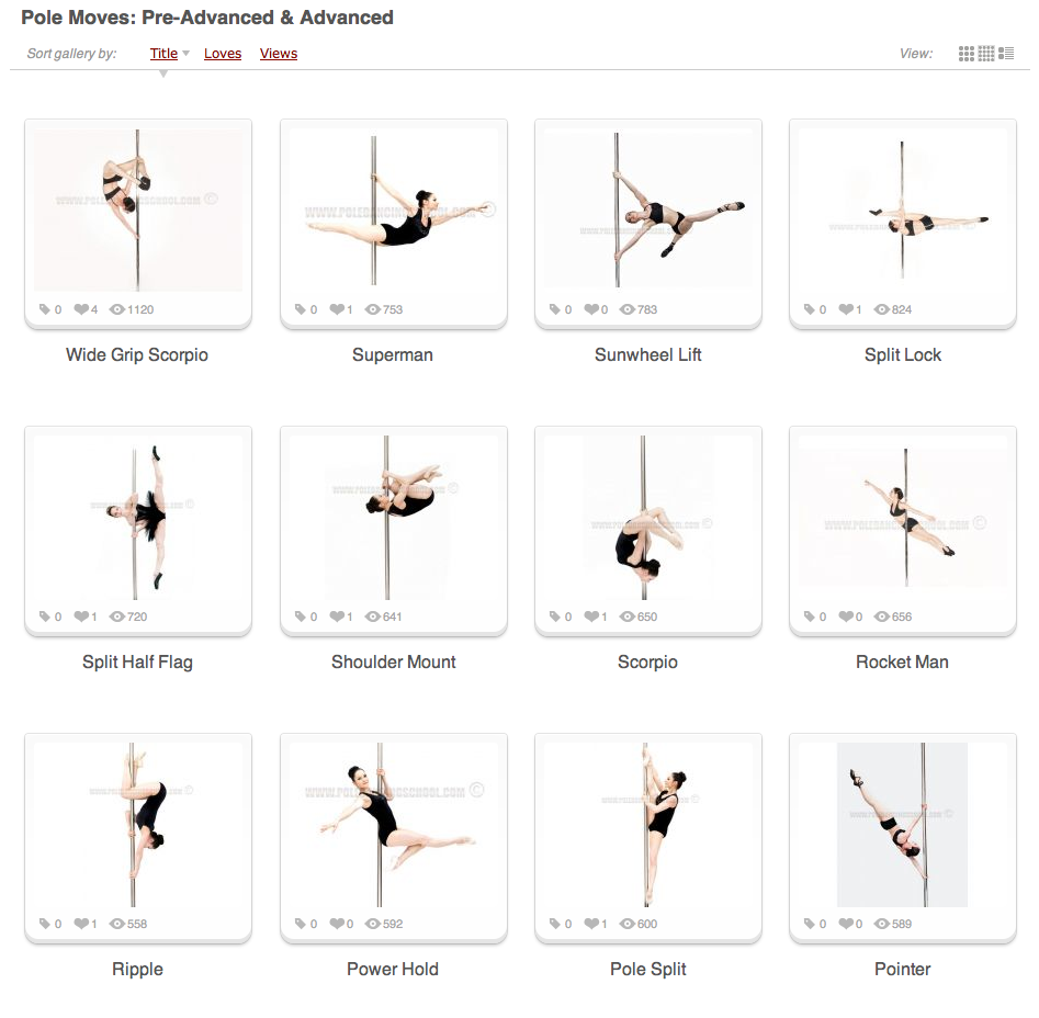 Online Pole Dancing Lessons | The Pole Fitness Dancing Shop