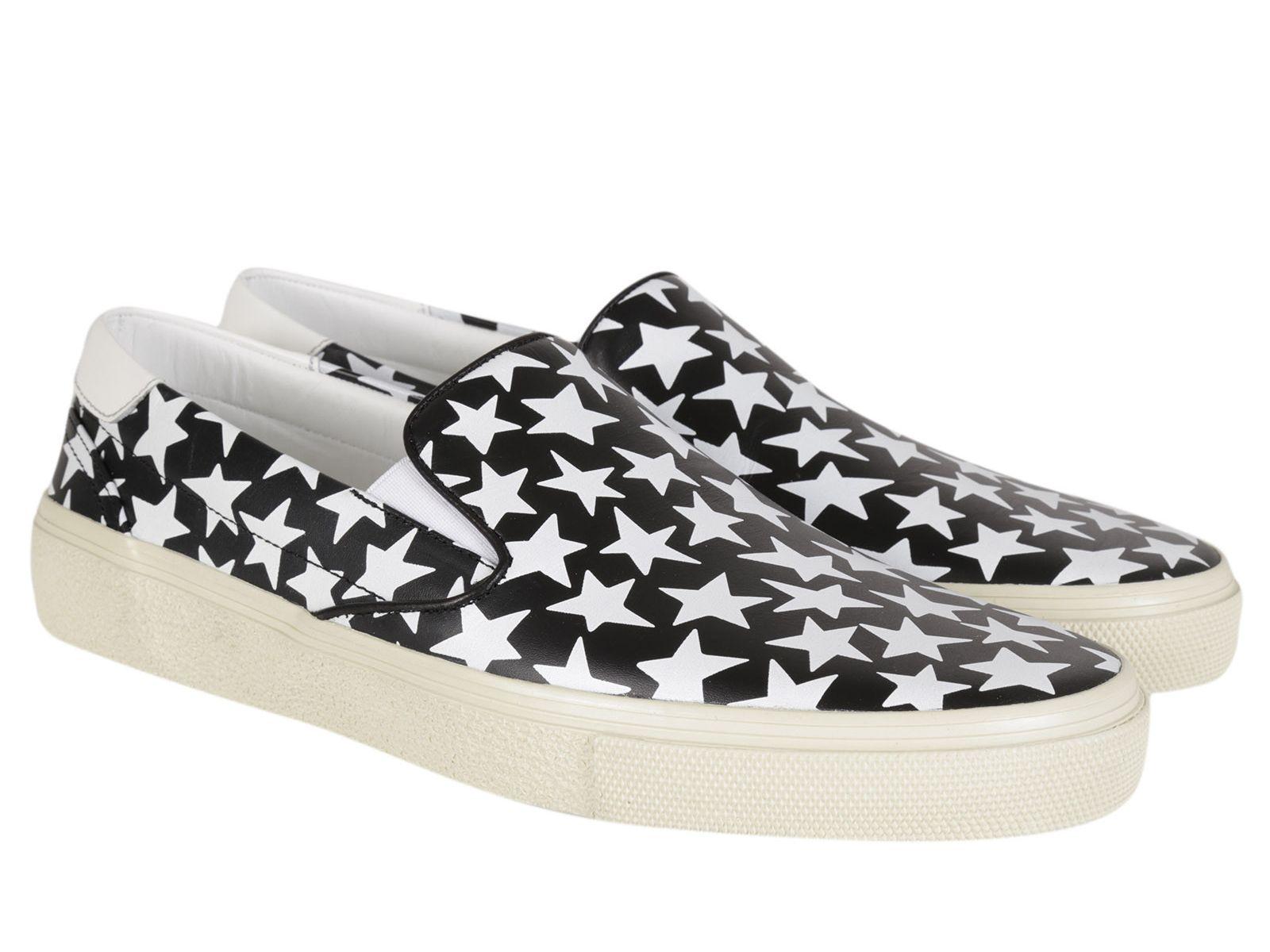 Leather slip-on loafers Saint Laurent Kb6De