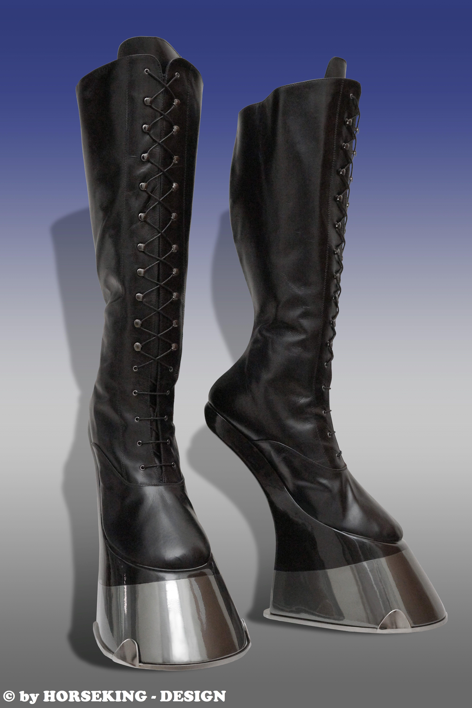 Boots mit hufeisen pony 1 Pair