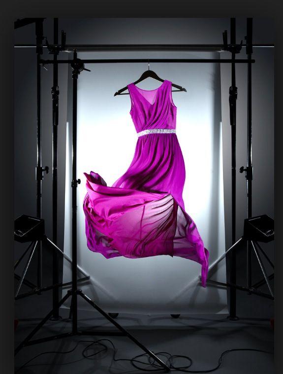 #floating dress #hung #visible set
