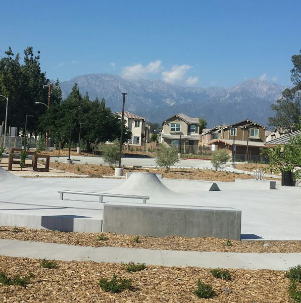 Los Amigos Skate Park In Rancho Cucamonga California Ca Things To