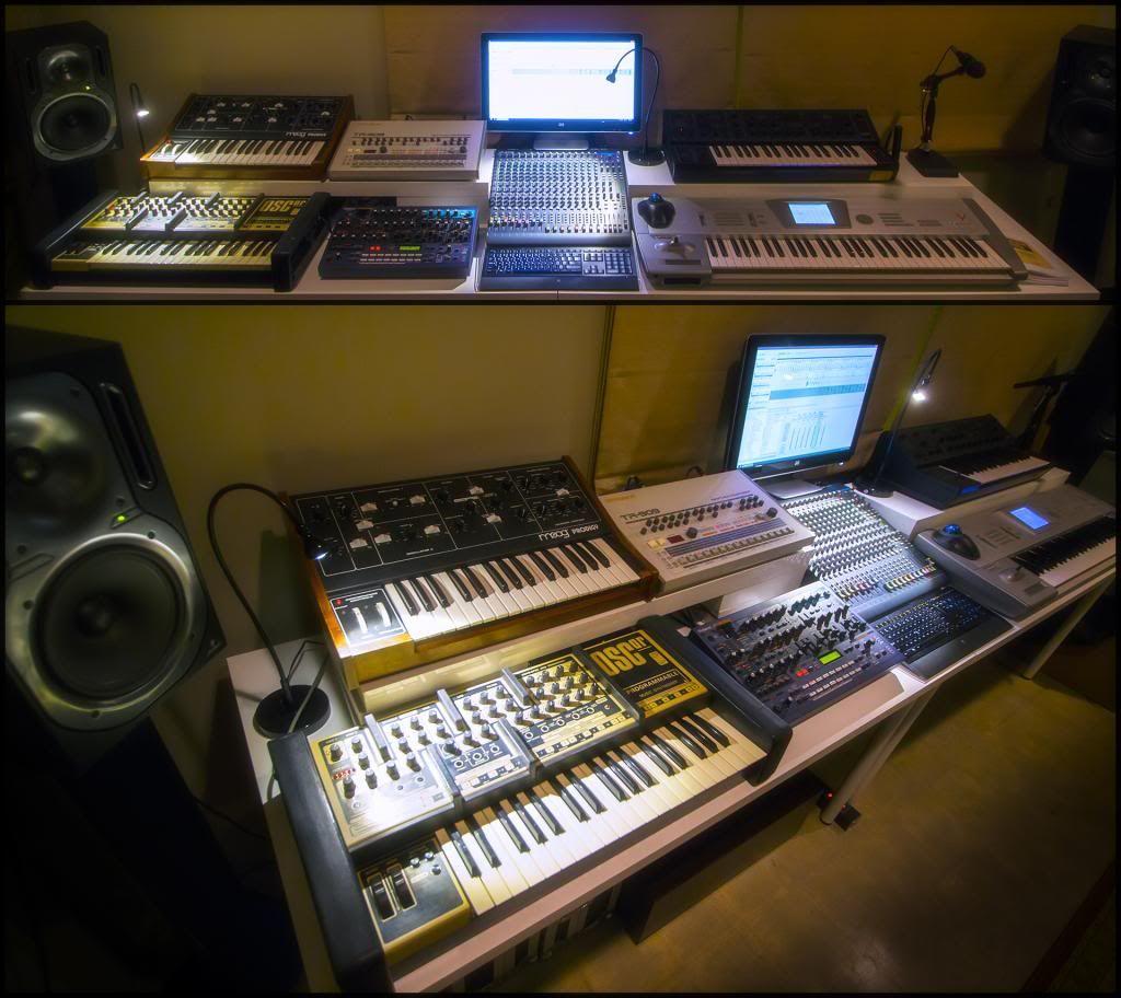 Desktop synths - how to organize them? - Gearslutz Pro Audio