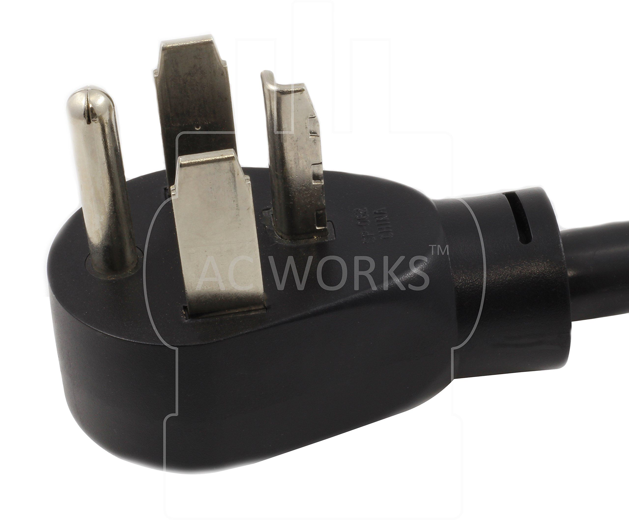 Ac Works S14301030018 4prong Dryer Plug To 3prong Dryer Female Socket Adapter Want Additional Info Click On The Image Thi Dryer Plug Parts Accessories