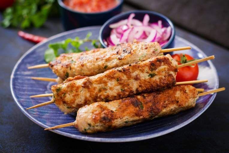 Forty Four Healthy Ground Turkey Recipes - Slender Kitchen #groundturkeytacos