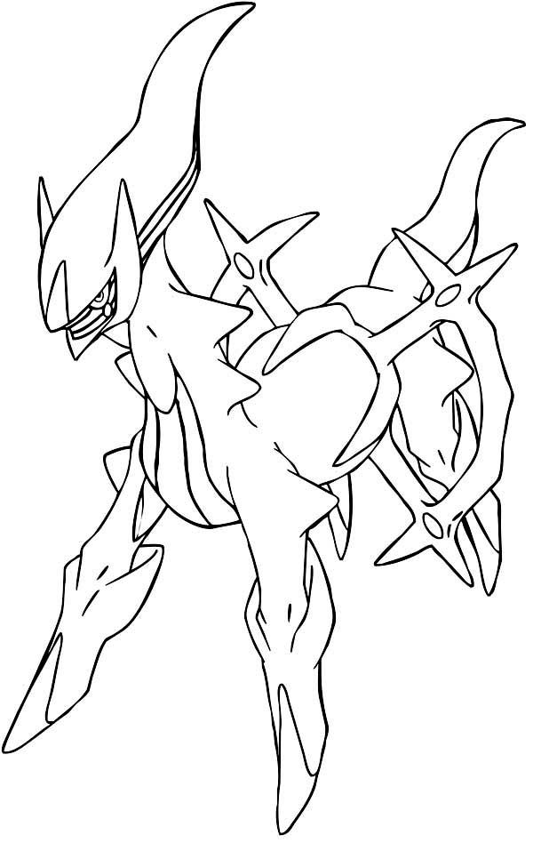 arceus coloring pages Google