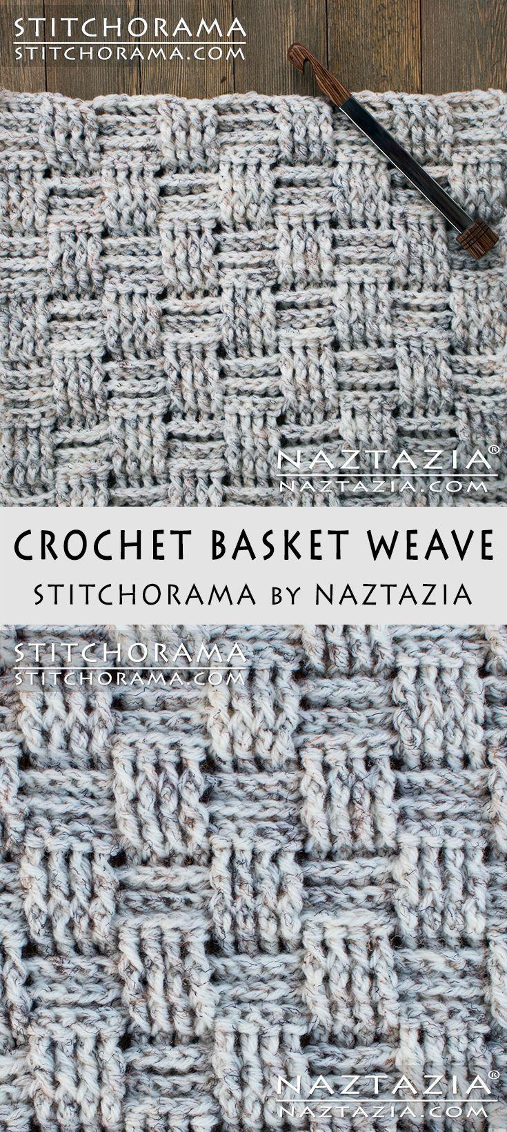 Crochet Basket Weave - Stitchorama by Naztazia Free Pattern & DIY ...