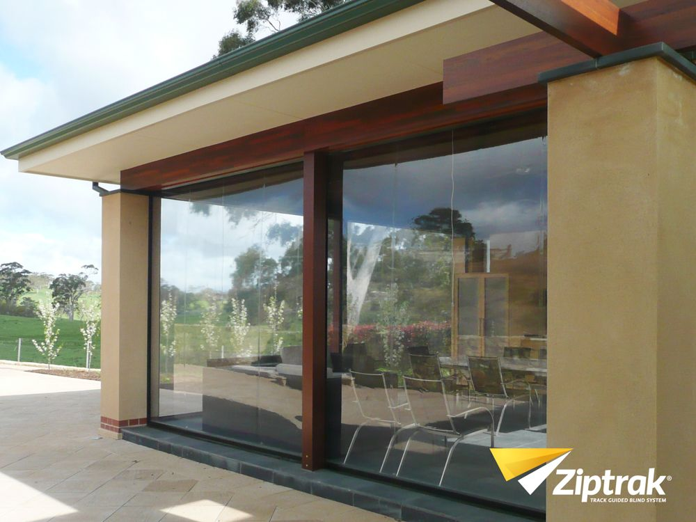 Cierre De Terraza Ziptrak PVC Super Clear. Garage De Proyectos.  Distribuidor Exclusivo Para Chile · Patio BlindsOutdoor ...