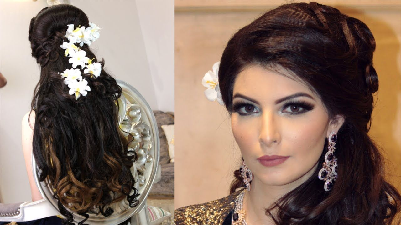Hairstyle For Wedding Reception Relaxed - luxurious indian wedding reception hairs… | Indian ...