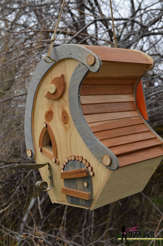 Whimsical Birdhouse | Birdhouses (I dunno why...) | Pinterest ... on