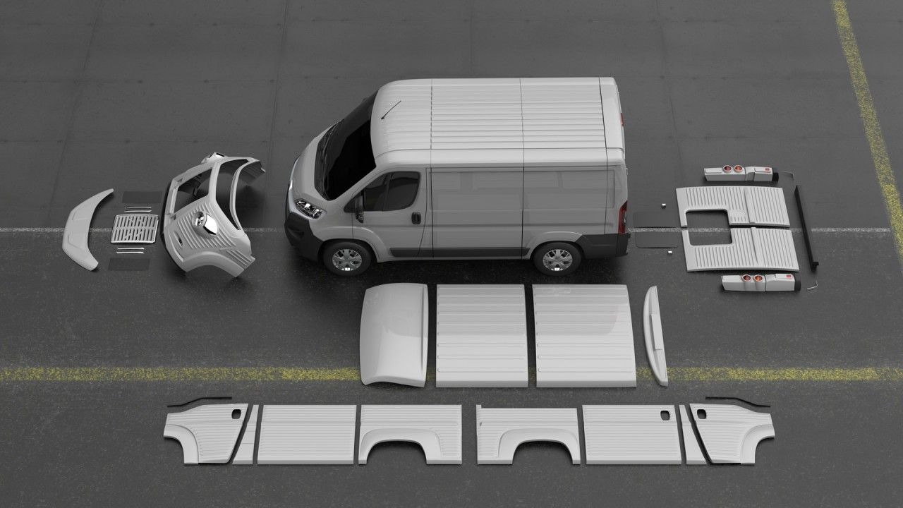 Citroen Type H 70th Anniversary Van Conversion