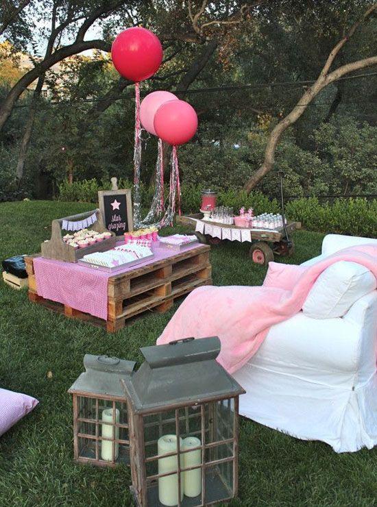 pallet party decor - Google Search | Ideas de palets de ...