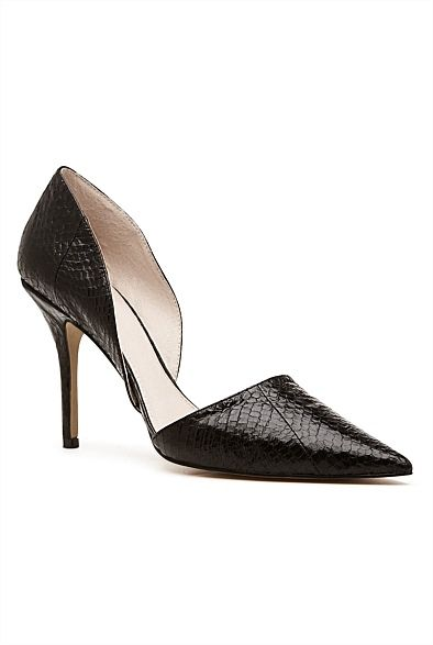 3722e225a769 Starla Heel ( 179.95) from Witchery. Every girl needs black points! Pair  with some great skinny jeans and white tee for a simple yet chic look.