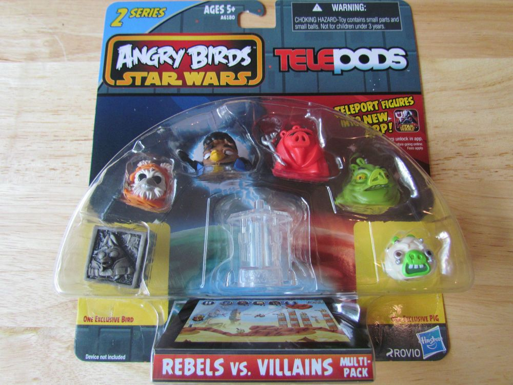 Angry Birds Star Wars Telepods Series 2 Rebels Vs Villians Multi