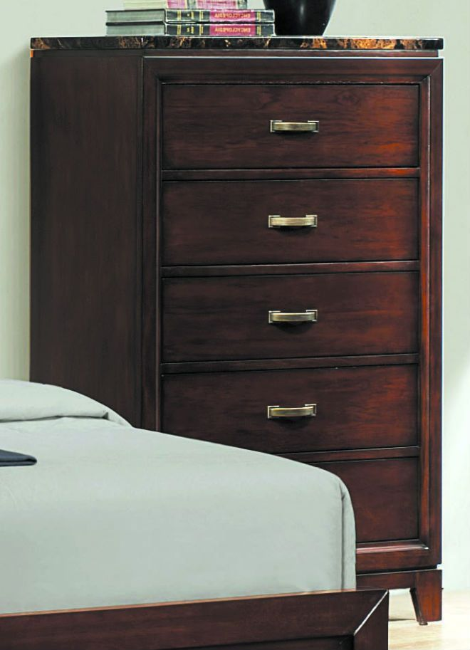 Ottowa Collection Chest with Faux Marble Top 2112-9 Products