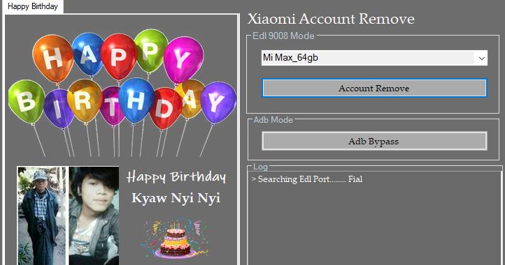 Xiaomi Account Remove Tool mi 8 pro Redmi 6 pro foco F1