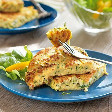 Photo of Zucchini pancakes with sheep cheese