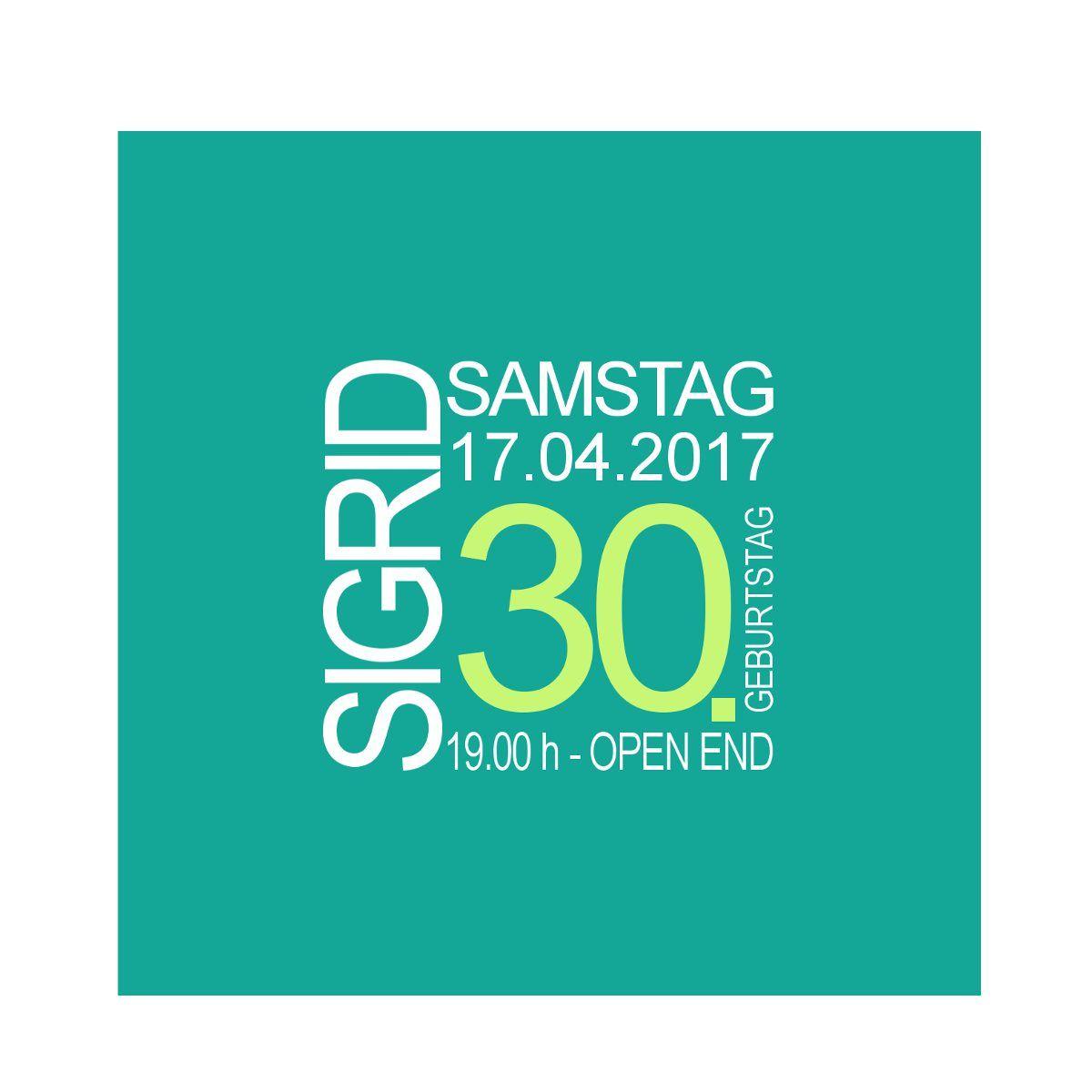 Einladungskarten 30 Geburtstag Einladungskarten 30 Geburtstag