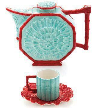 Franz's porcelain tea
