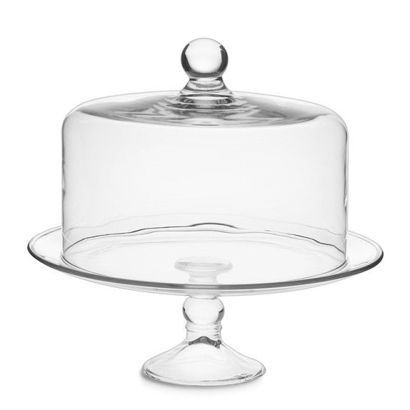 Glass Cake Plate with Dome  sc 1 st  Pinterest & Glass Cake Plate with Dome | Kitchen | Pinterest | Cookware and Kitchens