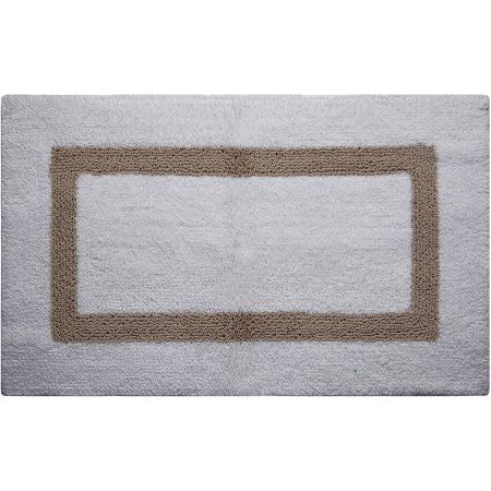 Better Trends Chenille Rocks Collection Is Ultra Soft Plush And Absorbent Tufted Bath Mat Rug 100 Cotton In Vibrant Colors 24 X 36 Rectangle White Walma Cotton Bath Rug Hotel