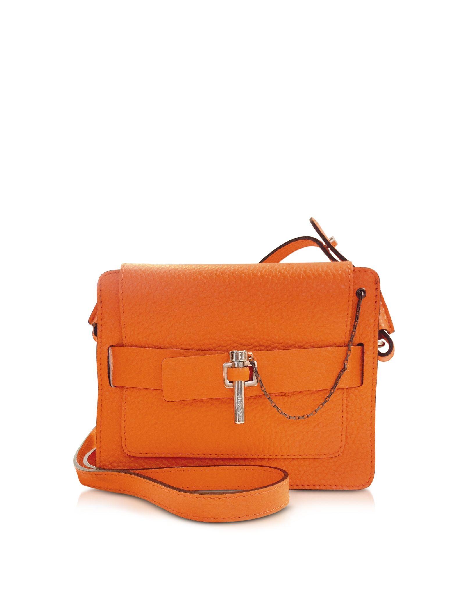 d029396e43 Carven Orange Small Mahler Bag at FORZIERI