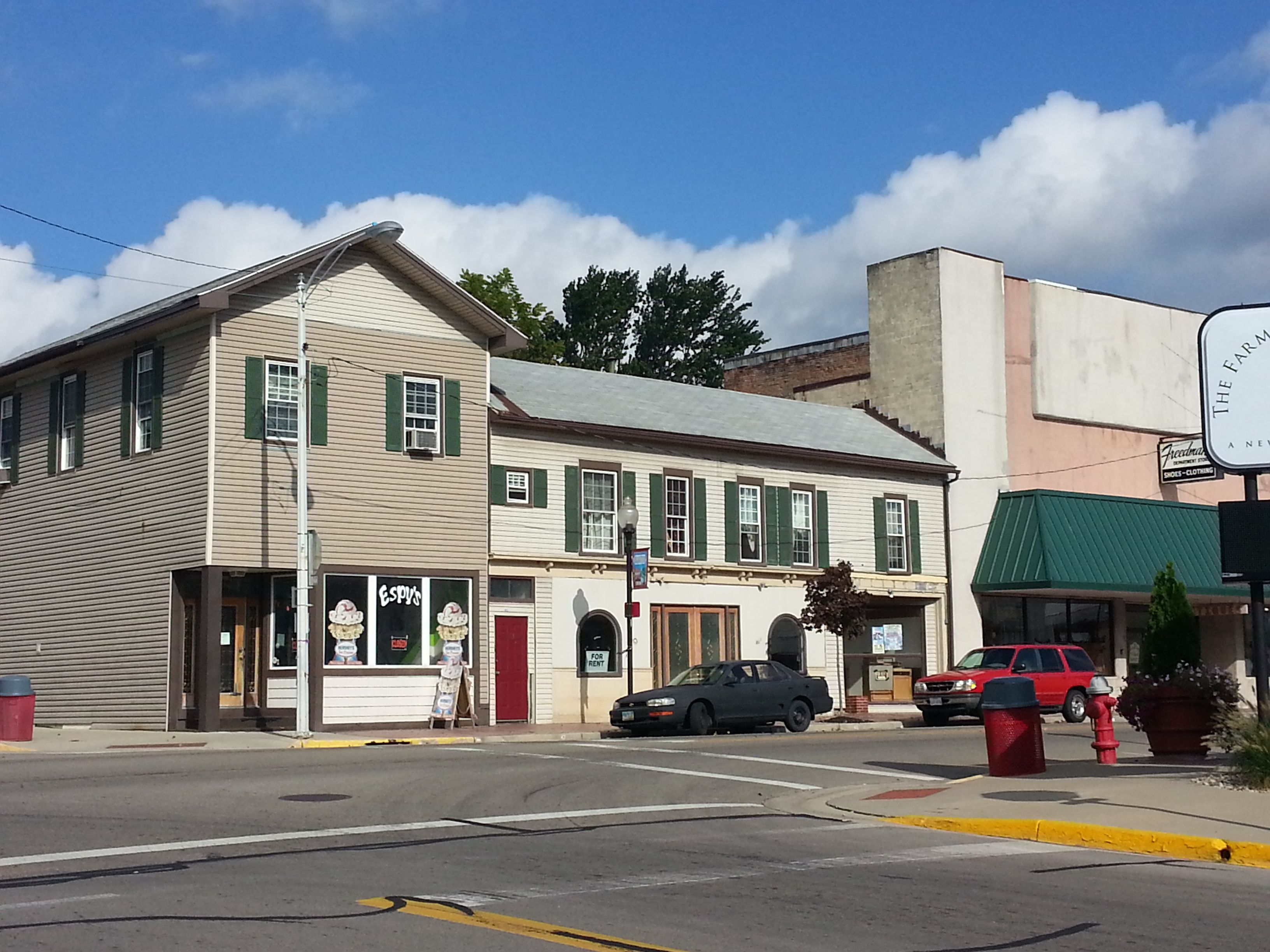 The Main Intersection In Lewisburg Ohio One Of The 10 Villages