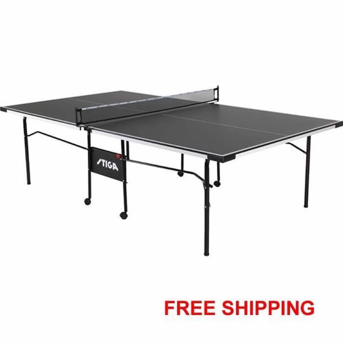 Stiga Table Tennis Table Ping Pong Table Indoor Inside Game Net Pingpong New Table Tennis Table Tennis Table Size Ping Pong Table