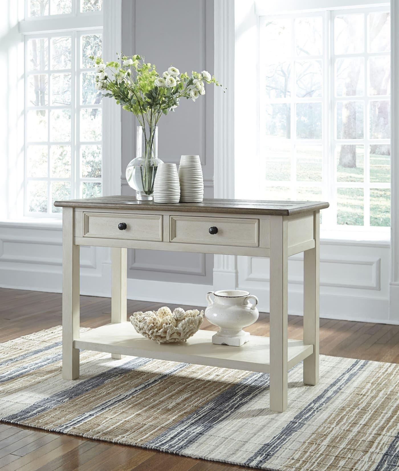 Signature Design by Ashley Bolanburg Twotone Sofa Table