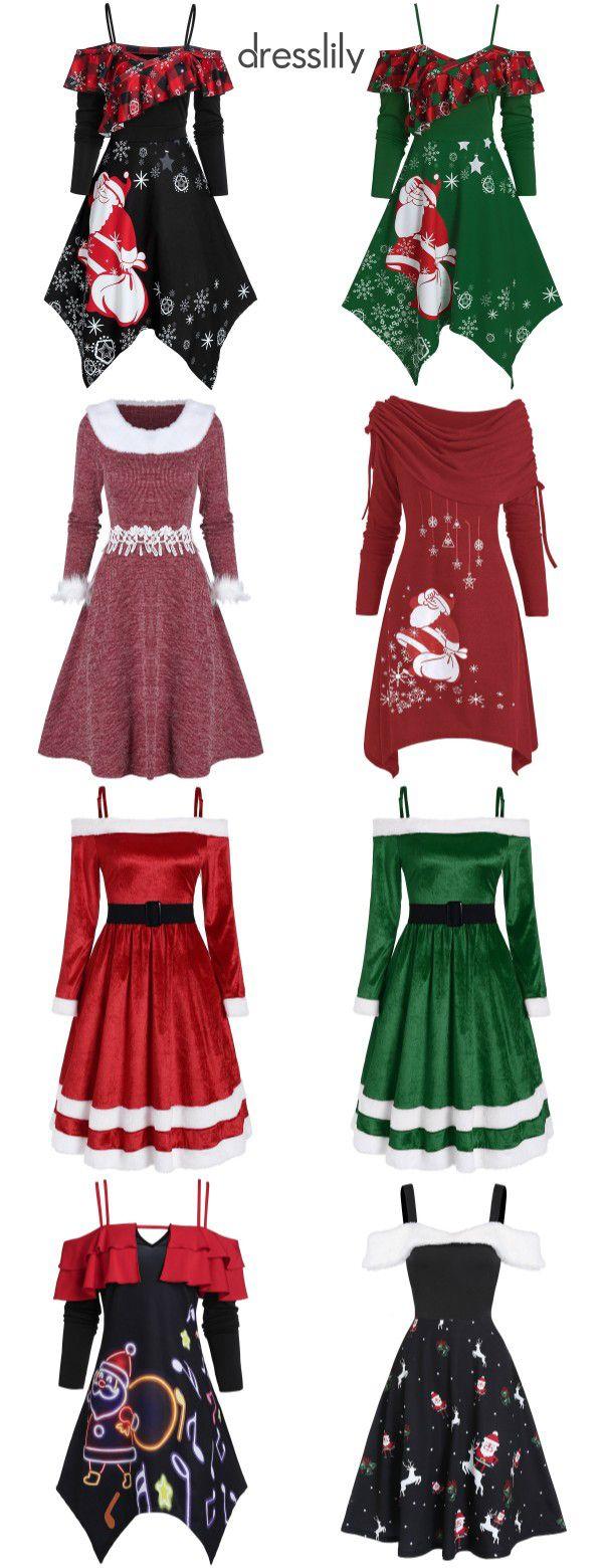 Christmas Dress Women Dress for Christmas Party