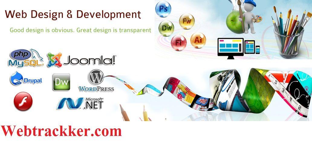 Web Development In Indirapuram Ghaziabad Webtrackker Is An It Company Provides A Website Designing And Development Website Design Company Web Design Website Development Company