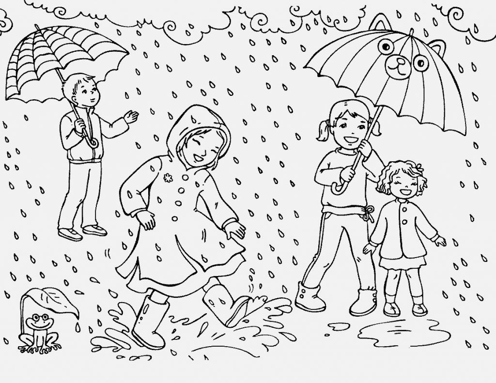 Rain Coloring Pages Best Coloring Pages For Kids Coloring Pages Coloring Pages For Kids Umbrella Coloring Page