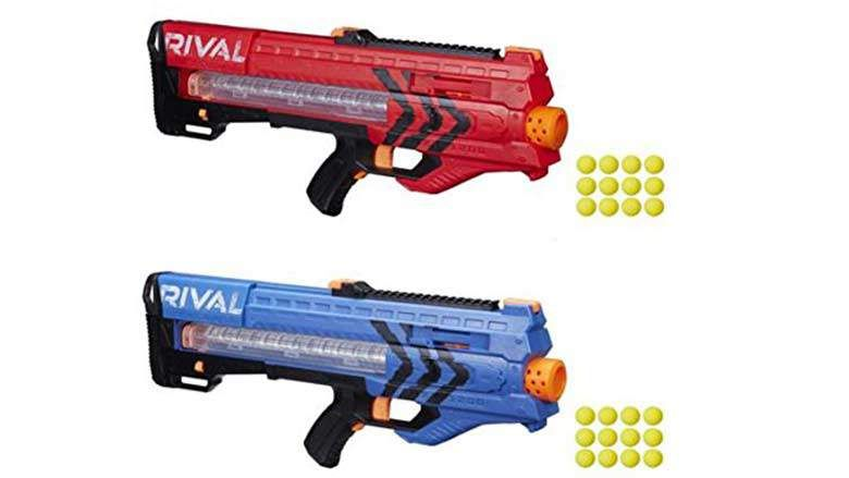 Explore Nerf Guns For Sale, Red And Blue, and more! rival zeus