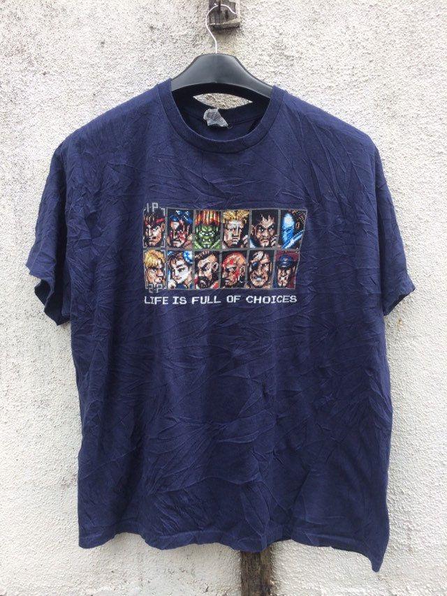 Vintage 90's Street fighter shirt / vintage gaming shirt