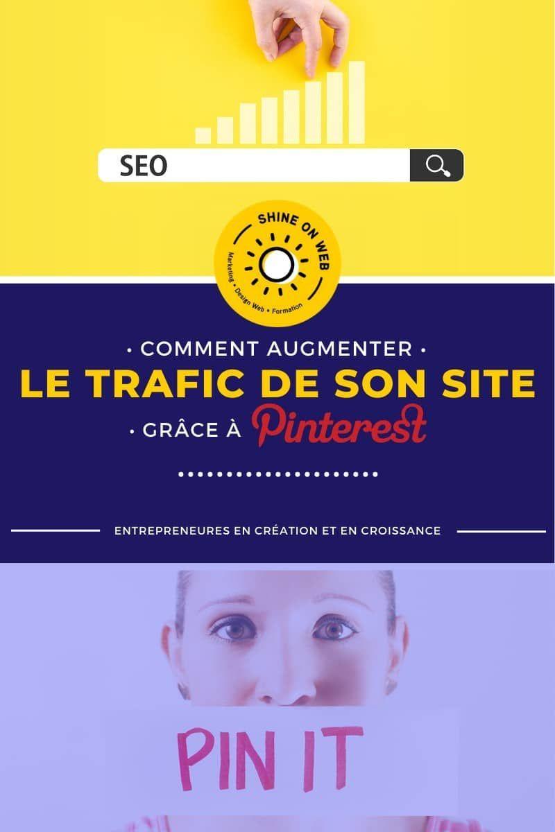 Comment Augmenter Le Trafic De Son Site Web Avec Pinterest En 2020 Trafic Outils De Veille Marketing