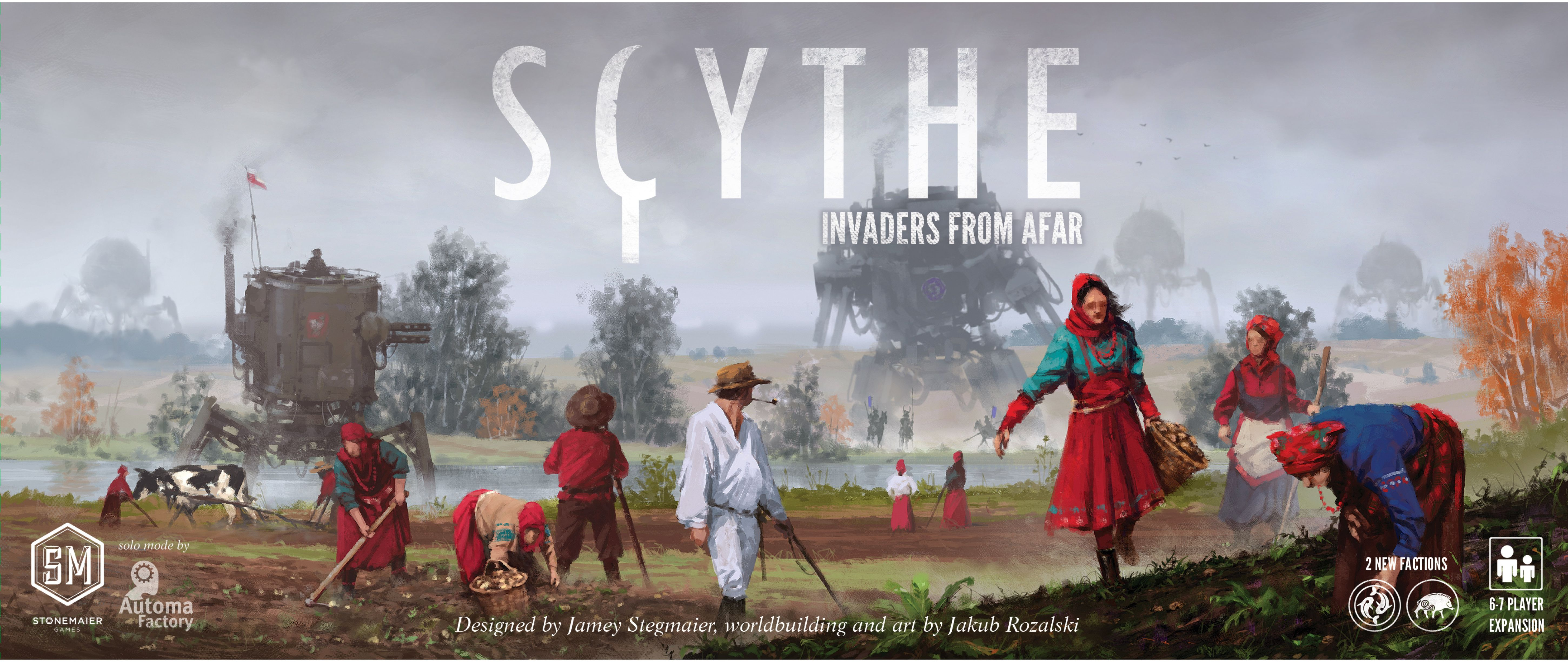 Scythe Invaders from Afar Werewolf, Artist, Board games