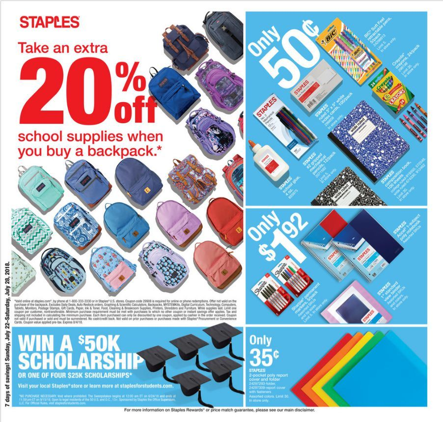 Staples Weekly ad Flyer Feb 16 Feb 22, 2020 Weekly ads