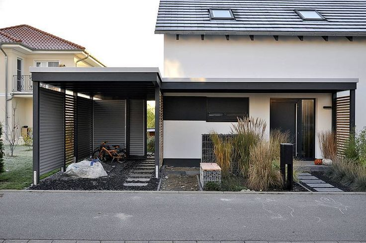 Ahnliches Foto Haus Mit Garage Haus Aussenbereiche Carport