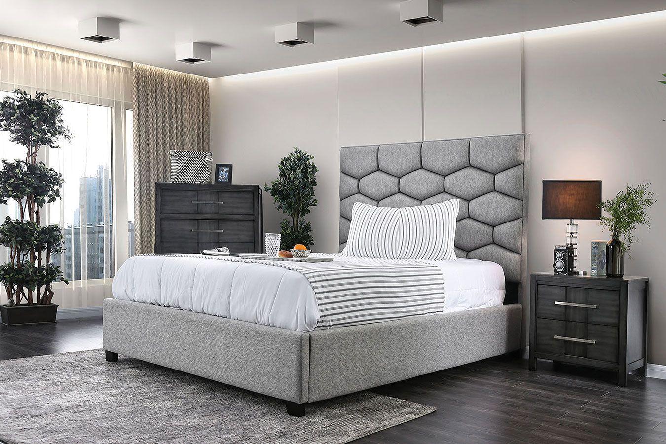 Celestia Upholstered Bedroom Set Upholstered Bedroom Set Upholstered Bedroom Bedroom Furniture