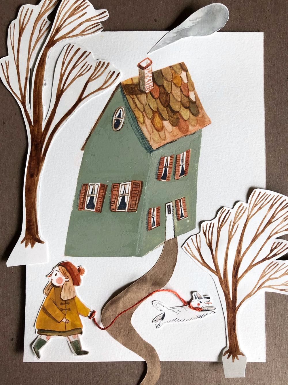 Mediatweets Door Taryn Taryndraws Twitter Children Book Illustration Watercolor Collage Illustration Illustration Art