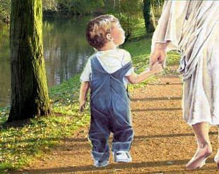 Enjoy The Tempo Of A God Breathed Life By Letting Him Set The Pace Hold His Hand In Childlike Trust And The Way Christian Poems Jesus Pictures Faith In God