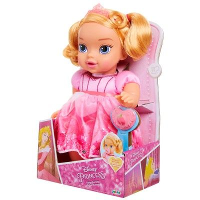 Disney Princess Deluxe Baby Aurora Doll with Pacifier Toy Gifts For Girls NEW!