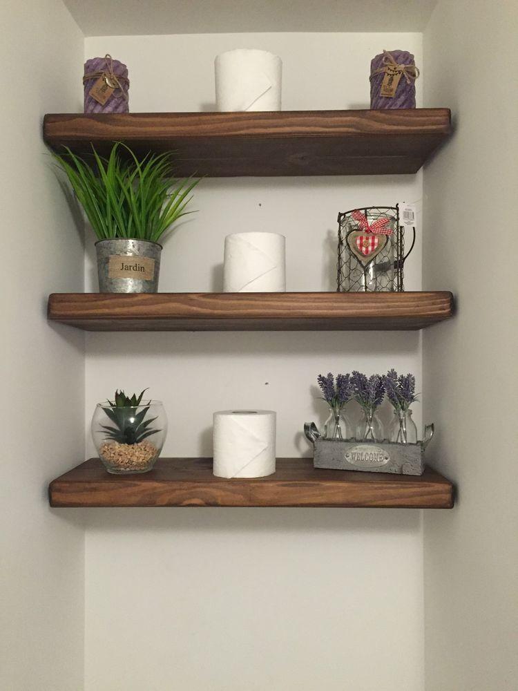 Bespoke Solid Wooden Floating Shelf