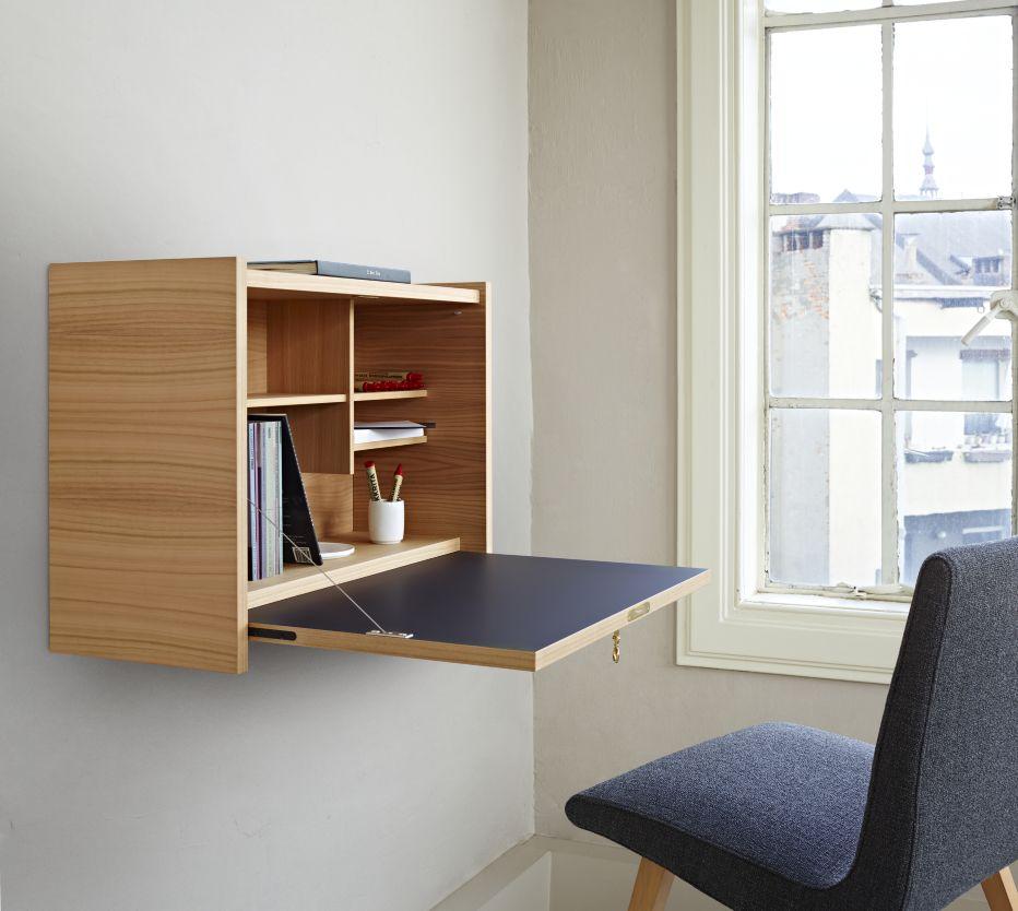 le secretaire mural bureaux et secr taires designer pierre paulin ligne roset maison. Black Bedroom Furniture Sets. Home Design Ideas